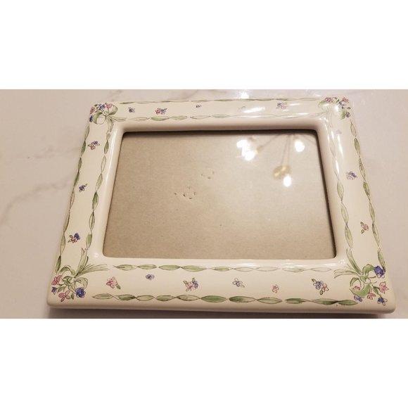 Floral Ceramic Picture